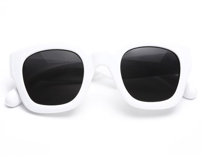 Galactic Thick Frame Horn Rimmed Sunglasses | Vanity Glasses