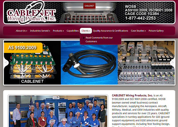 CABLENET Wiring Products, Inc.