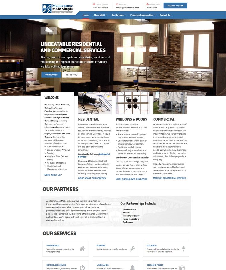 Maintenance Made Simple | THE DIGITAL MOTION | On-line Portfolio